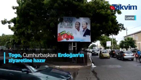 Togo, Başkan Erdoğan'ın ziyaretine hazır! Afişler asıldı, sokaklar Türk bayraklarıyla donatıldı…