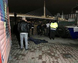 Gece yarısı korkunç olay! İstanbulda denizde bulundu