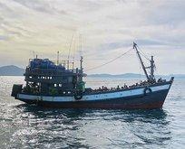 Onlarca Arakanlı Müslümanın denizde boğulduğu iddiası