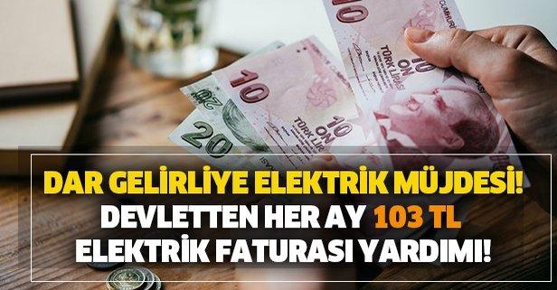 Dar gelirli vatandaşların elektrik faturasını her ay devlet ödeyecek! PTT elektrik yardımı başvuru şartları neler?