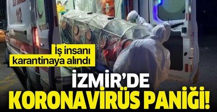 izmirde corona virus