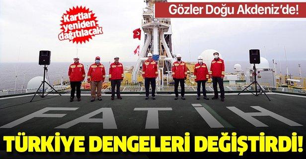 Türkiye dengeleri değiştirdi: Gözler Doğu Akdeniz'e döndü!