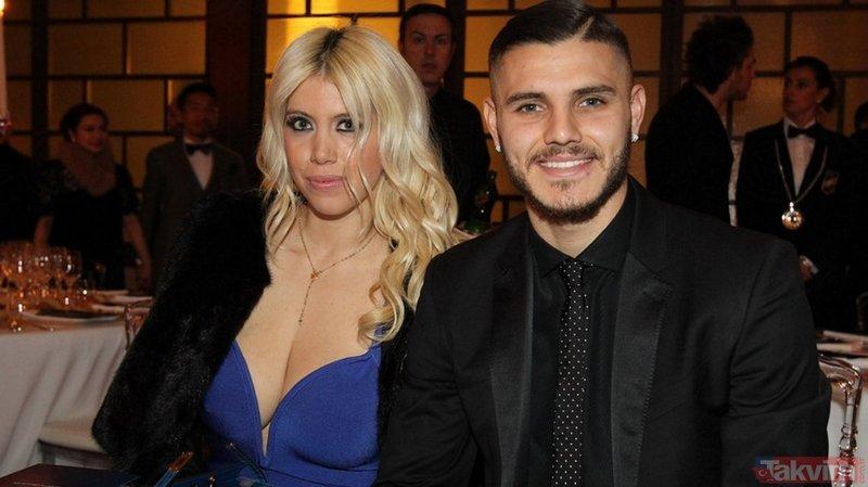 Mauro Icardi'nin eşi Wanda Nara kocasını satılığa çıkardı