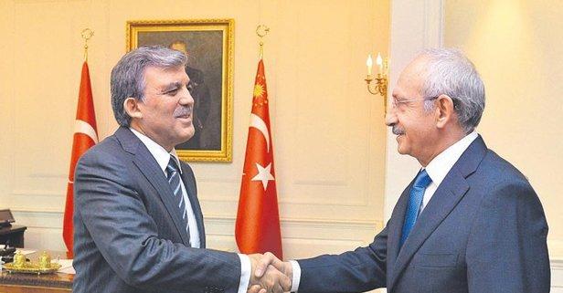 Abdullah Gül önce Karamollaoğlu ardından Kılıçdaroğlu ile buluştu ...