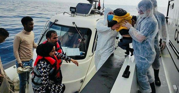 Yunan'ın ölüme ittiği 78 sığınmacı kurtarıldı