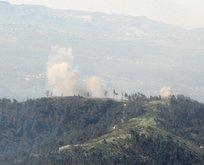 Esad Rejimi'nin helikopteri düşürüldü
