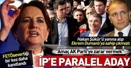 FETÖ savunucusu İdris Naim Şahin, İyi Parti'den aday oldu