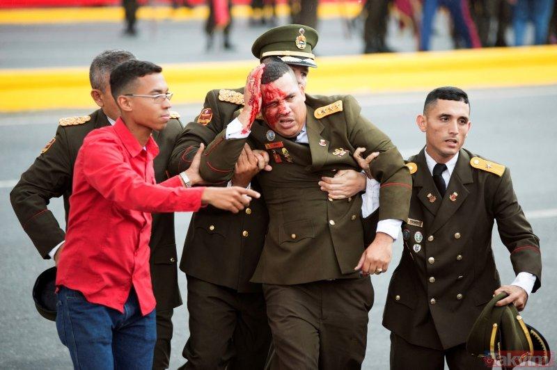 Madurodan suikast girişimi sonrası ilk açıklama! O ülkeleri suçladı