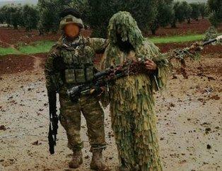 Afrin'den ilginç fotoğraf...