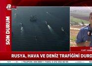 Rusya'dan Akdeniz'de flaş hamle! İsrail'in hava ve deniz trafiğini kilitledi