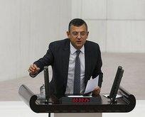 CHPli Özgür Özelin skandal ifadelerine sert tepki!