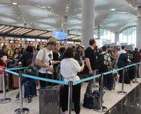 İstanbul havalimanlarında bugün!