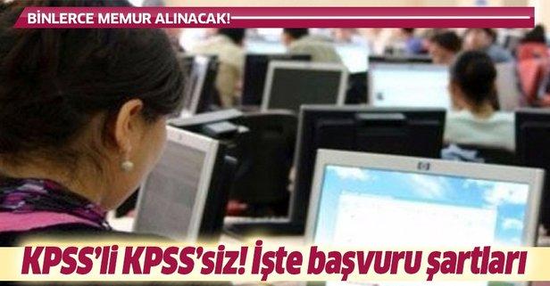29 Ekim DPB iş ilanları! KPSS şartsız...