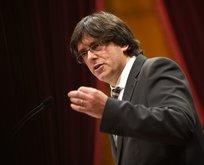 Katalan lider tahliye edildi