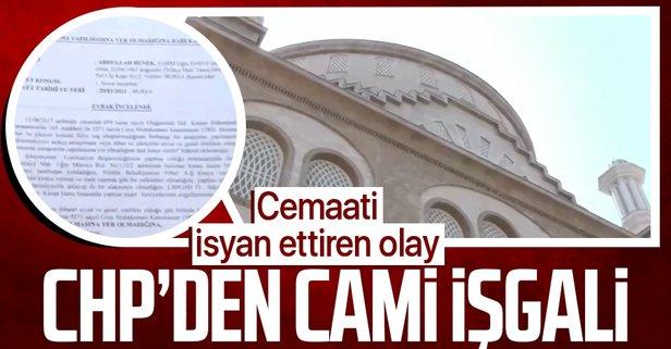 CHP'li belediye cami avlularını kafeye çevirdi