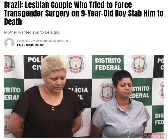 Komplo değil gerçek! LGBT sapkınlığında hedefte bebekler var