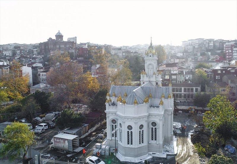 Demir Kilise yarın açılıyor