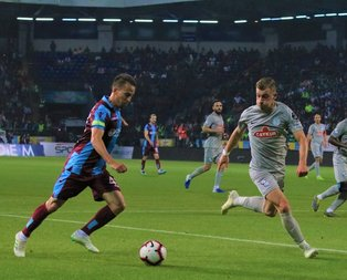 Karadeniz derbisinde kazanan Trabzonspor!