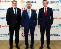 Turkcell, Türk Telekom ve Vodafone'dan dev iş birliği