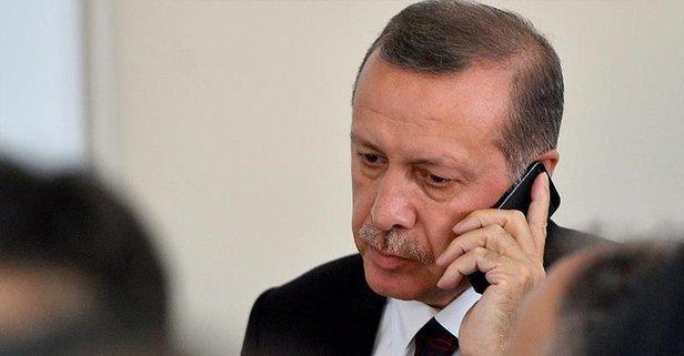Erdoğan'dan İbrahim Çelebi'ye tebrik telefonu