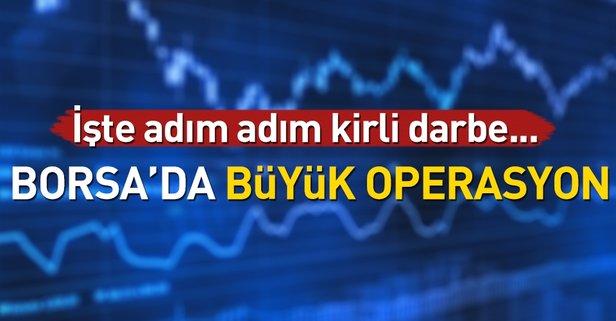 Borsa'da büyük operasyon