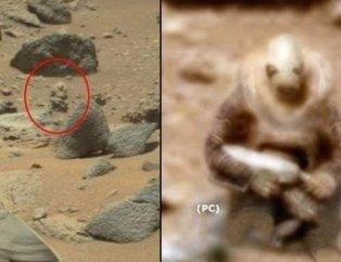 NASA bu görüntüleri ilk kez yayınladı! Kanınız donacak...  Mars'a ilişkin en yeni görüntüler