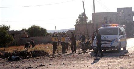 Esed rejimi yine İdlib'i vurdu! Ölü ve yaralılar var