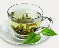 Uzun ömrün sırrı yeşil çay