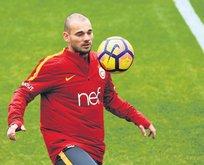 Wesley Sneijder kadro dışı kaldı