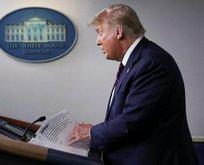 Trump ilk kez kabul etti! Dünya izledi