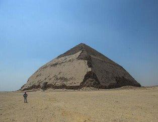 Büyük sır 4 bin 600 yıl sonra ortaya çıktı! Mısır'ın en gizemli piramidi Bent Piramidi...