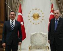 Başkan Erdoğan, Ali Koç'u kabul etti