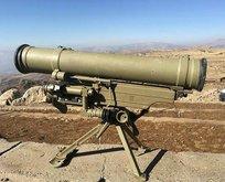 PKK'nın ininde tanksavar füzesi