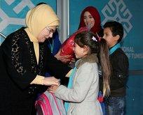 Emine Erdoğan, Maarif Okulunu ziyaret etti