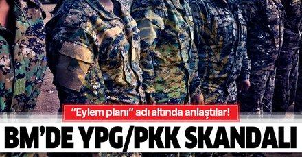 BM'de YPG/PKK skandalı! Eylem planı adı altında anlaştılar