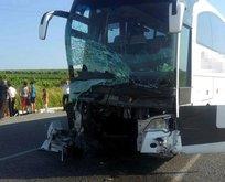 Manisa'da feci kaza! Ölü ve yaralılar var