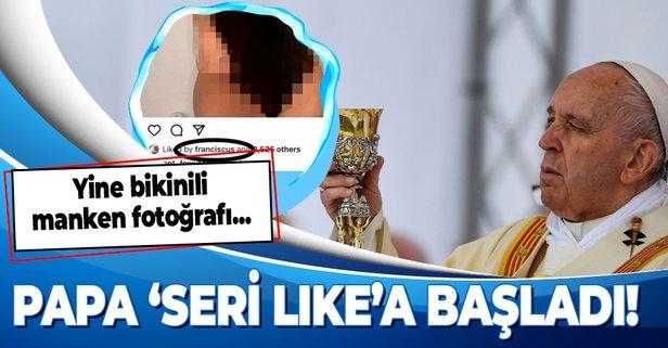 Papa Francis 'stalker' çıktı!
