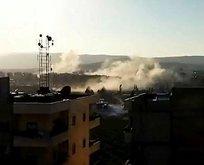 Afrin'e alçak saldırı! Valilikten açıklama
