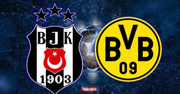 Beşiktaş Borussia Dortmund maçı UEFA Şampiyonlar Ligi maçı şifresiz nasıl izlenir?