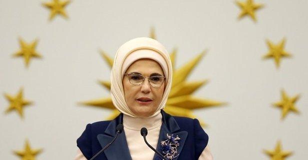 Emine Erdoğan Abdi Moalim ile görüştü