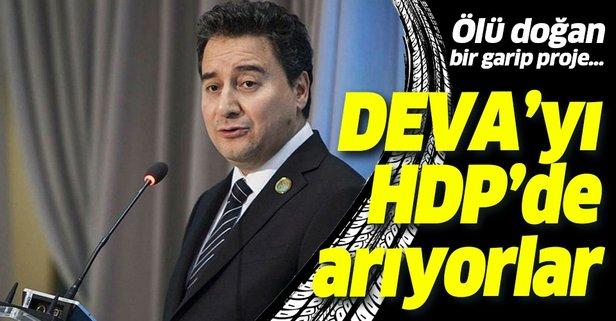Babacan'ın DEVA'sı HDP'ye göz kırptı