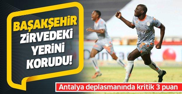 Başakşehir Antalya deplasmanında galip!