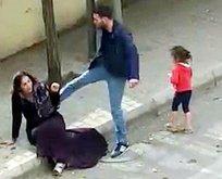 Eşini sokak ortasında dövmüştü! Flaş gelişme!