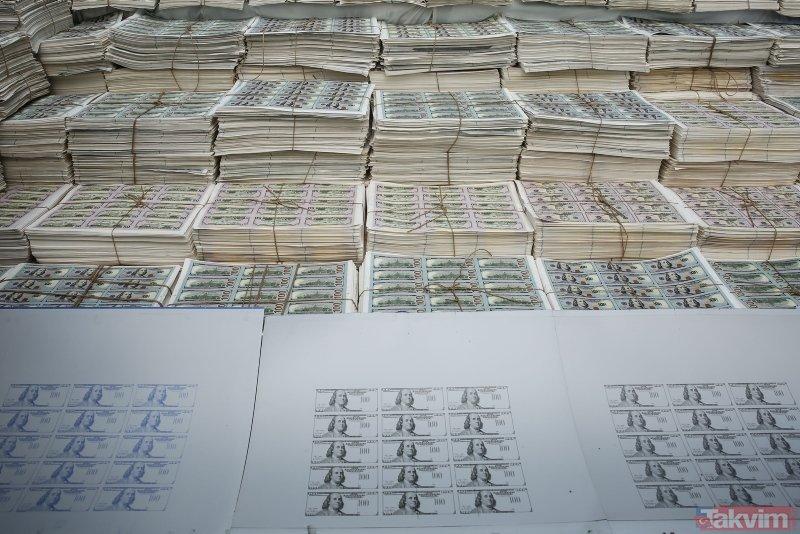 İstanbul'daki sahte para operasyonunda ele geçirilen dolarlar sergilendi