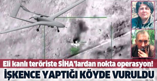 174 kişinin katili terörist SİHA'larla vuruldu
