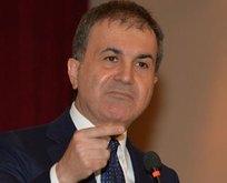 Türkiyeden skandal açıklamaya sert tepki