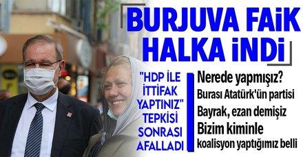 CHP Sözcüsü Öztrak halktan HDP tepkisi gördü
