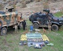 Hakkari'de PKK'ya ağır darbe! Hepsi ele geçirildi