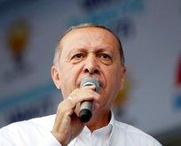 Cumhurbaşkanı Erdoğandan flaş Münbiç açıklaması