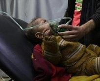 Esed rejimi Serakip'te kimyasal silah kullandı